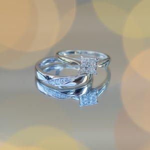 Kilnwick Percy resort wedding rings reflection photography