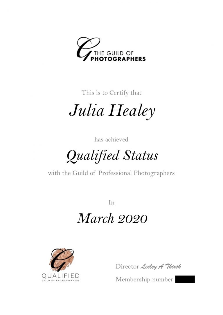 I am now officially 'Qualified'!