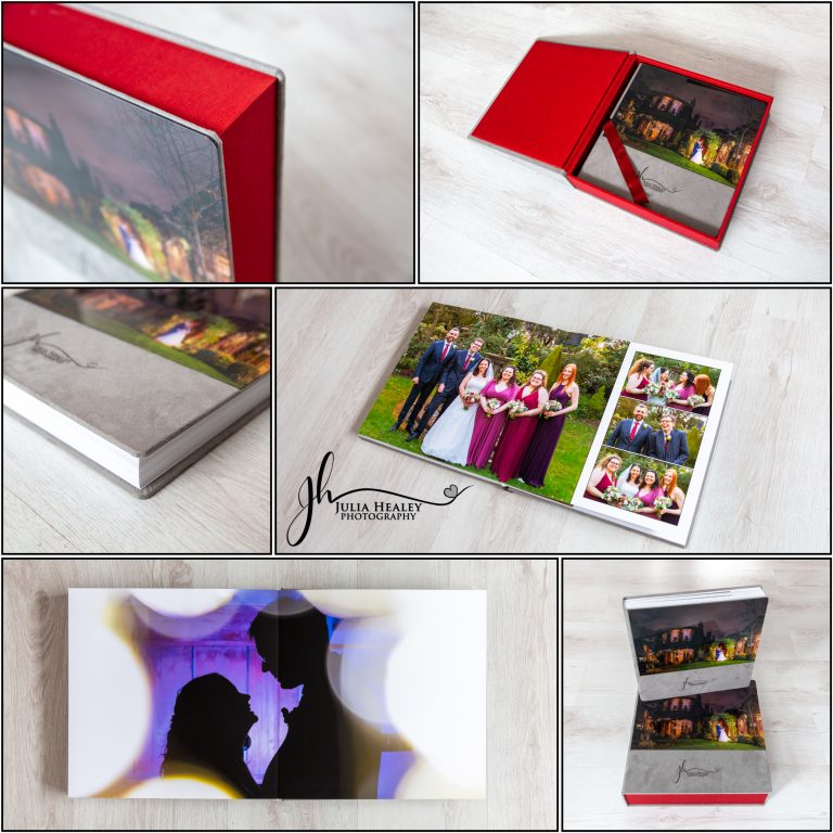 luxury wedding album from JHP Wedding Photography Packages